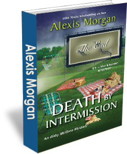 alexis morgan's death by intermission