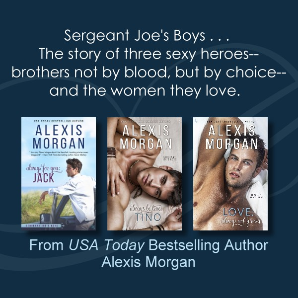 alexis morgan's sergeant joe's boys series
